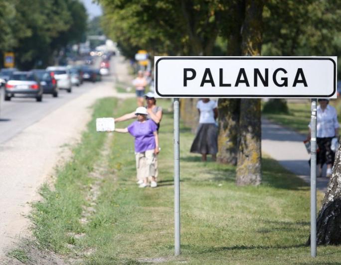 Palanga, Šventoji